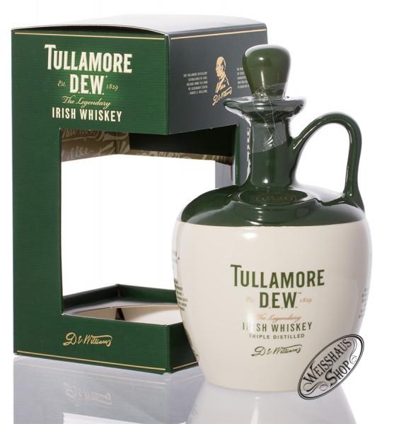 Tullamore Dew im Keramikkrug Irish Whiskey 40% vol. 0,70l
