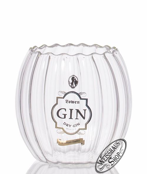 Bergbrennerei Löwen Gin Glas