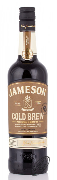Jameson Cold Brew Whiskey Likör 30% vol. 0,70l