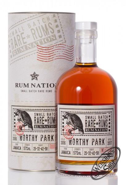 Rum Nation Rare Rum Worthy Park 2006 - 2017 57% vol. 0,70l