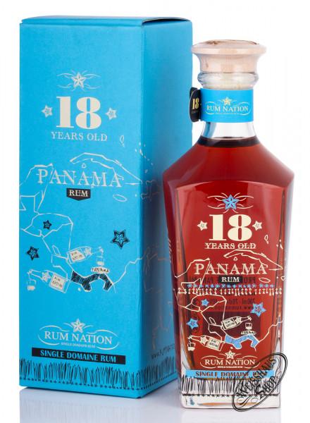 Rum Nation Panama 18 YO Rum 40% vol. 0,70l