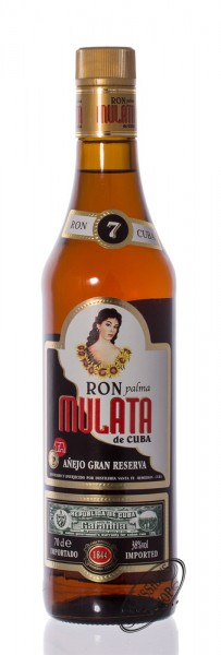 Ron Mulata Anejo Gran Reserva 7 Anos Rum 38% vol. 0,70l