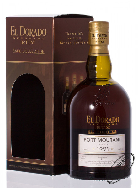 El Dorado Port Mourant Rare Collection Rum 61,4% vol. 0,70l