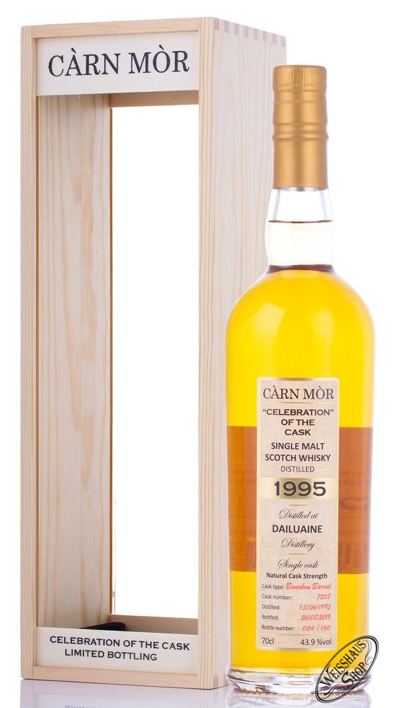 Morrison & MacKay Ltd. Carn Mor Dailuaine Vintage 1995 Limited Whisky 43,9% vol. 0,70l