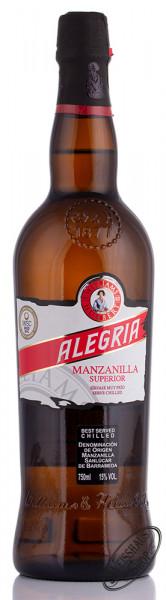 Williams & Humbert Alegria Manzanilla 15% vol. 0,75l