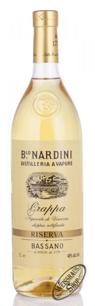 Nardini Grappa Riserva 40 40% vol. 1,0l