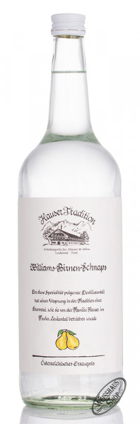 Hauser Williams Birnen Schnaps 35% vol. 1,0l