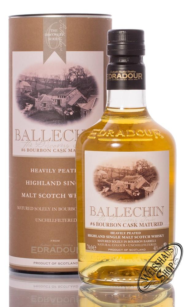 Edradour Ballechin #6 Bourbon Cask Matured Whisky 46% vol. 0,70l