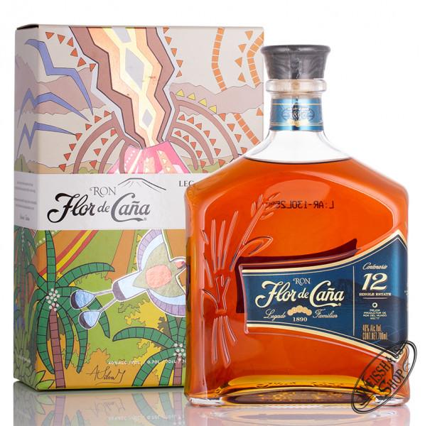 Flor de Cana Centenario 12 YO 40% vol. 0,70l
