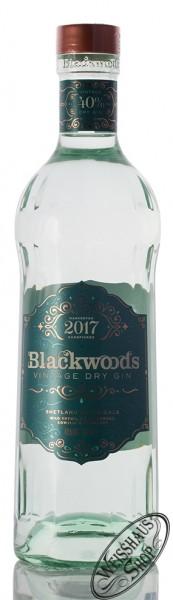 Blackwood's Vintage Dry Gin 2017 40% vol. 0,70l