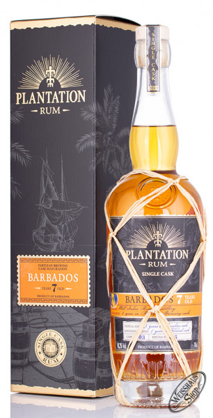 Plantation Barbados 7 YO Single Cask Edition Rum 48,2% vol. 0,70l