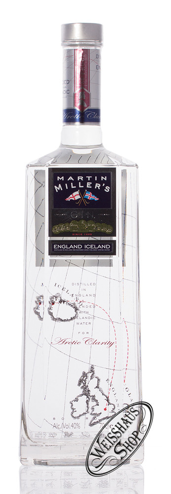 Martin Millers Dry Gin 40% vol. 0,70l