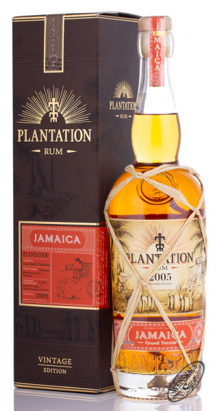 Plantation Rum Jamaica 2005 Vintage 45,2% vol. 0,70l