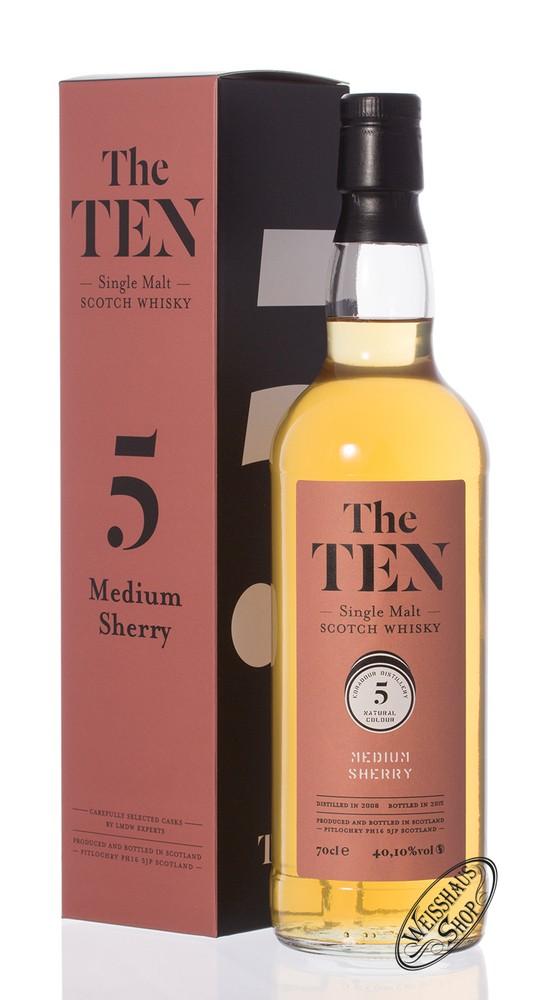 The Ten No. 5 Medium Sherry No. 5 Edradour Whisky 40,1% vol. 0,70l
