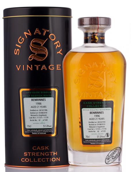 Benrinnes Vintage 1996 Signatory Whisky 51% vol. 0,70l