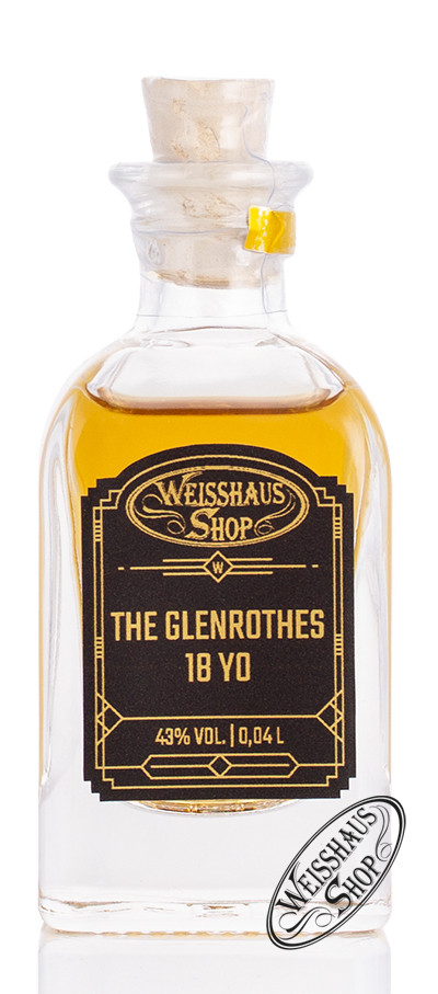 The Glenrothes 18 YO Whisky 43% vol. 0,04l Weisshaus Sample