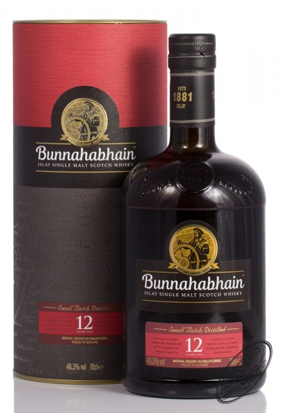 Bunnahabhain 12 YO Islay Single Malt Whisky 46,3% vol. 0,70l
