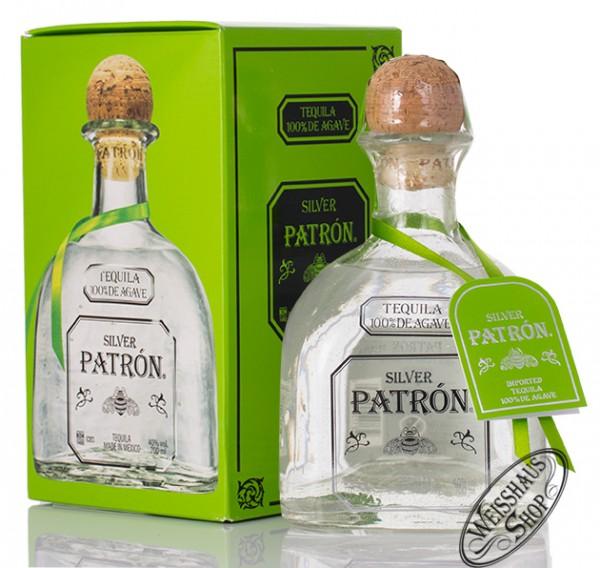 Patron Silver Tequila 40% vol. 0,70l