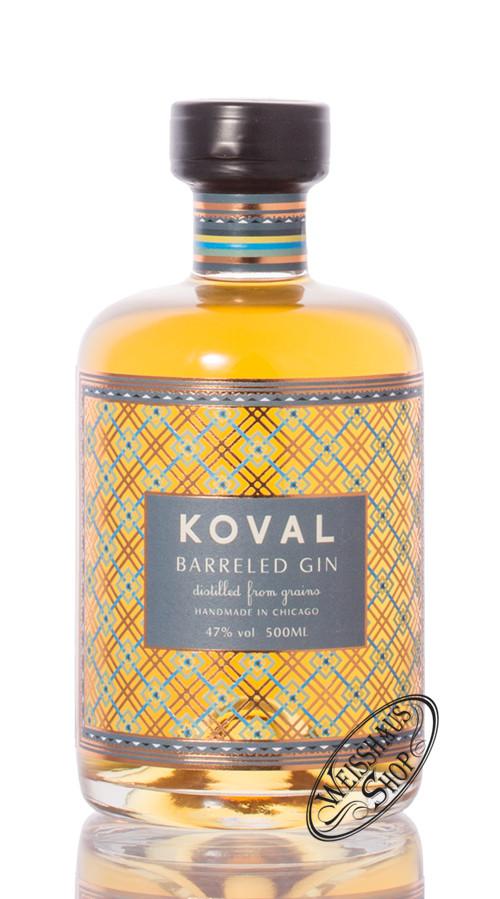 Koval Barreled Gin 47% vol. 0,50l