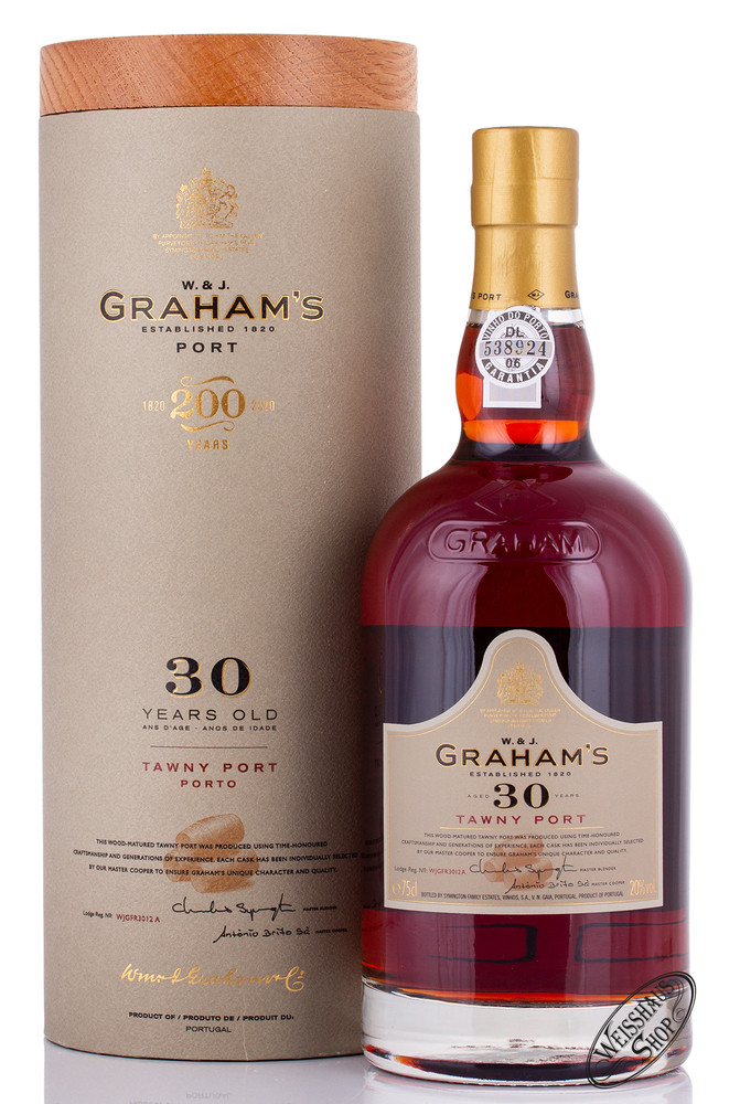 Graham's 30 YO Tawny Port 20% vol. 0,75l