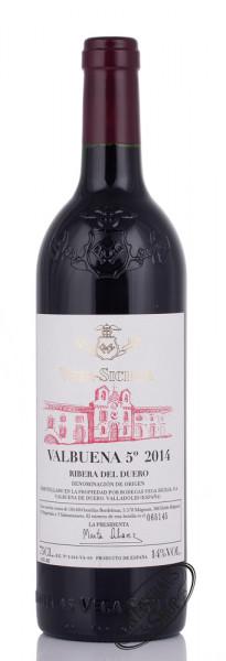 Vega Sicilia Valbuena 5° Ano 2014 14% vol 0,75l