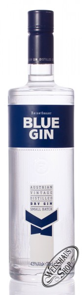 Reisetbauer Blue Gin 43% vol. 0,70l