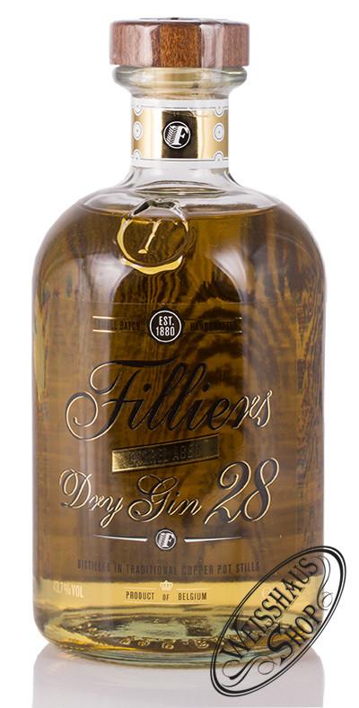 Filliers Barrel Aged Dry Gin 28 43,7% vol. 0,50l