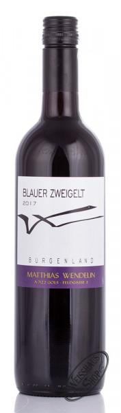 Wendelin Blauer Zweigelt 2017 13% vol. 0,75l