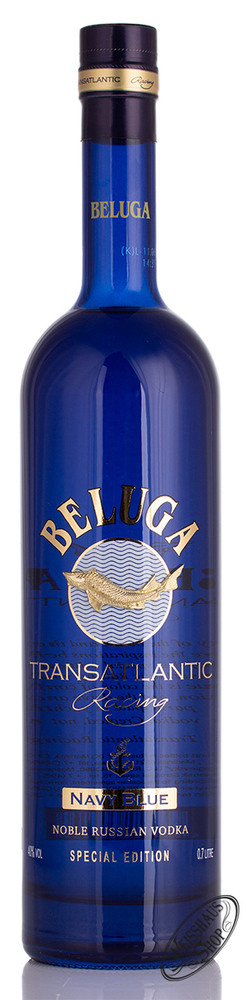 Beluga Transatlantic Racing Navy Blue Vodka 40% vol. 0,70l