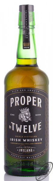 Proper No. Twelve Irish Whiskey 40% vol. 0,70l
