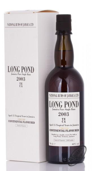 Long Pond 2003/2018 15 YO Jamaica Rum 63% vol. 0,70l