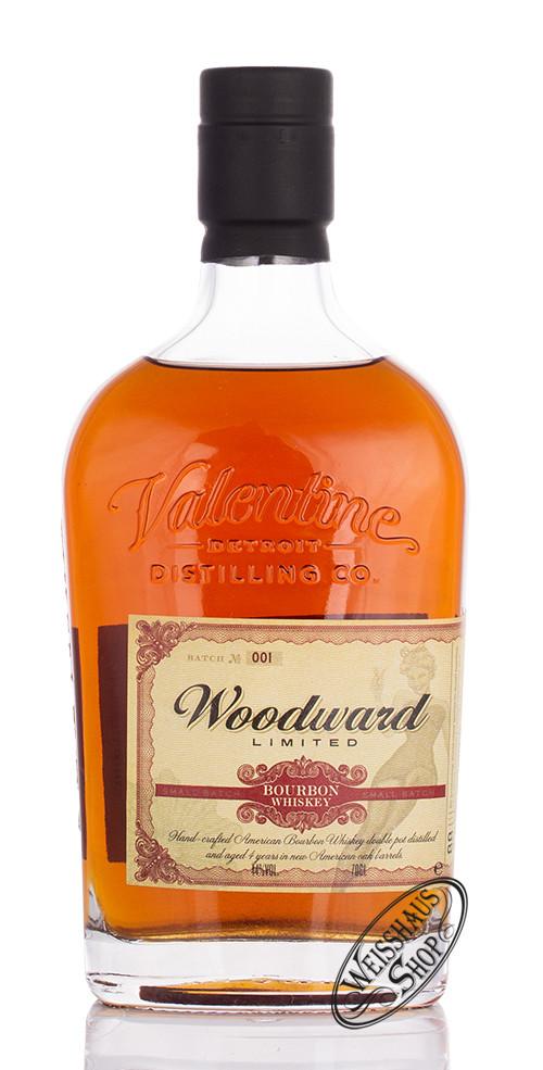 Valentine Distilling Co. Woodward Bourbon Whiskey 44% vol. 0,70l
