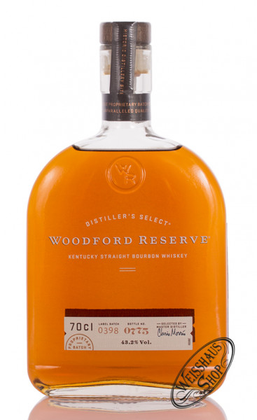 Woodford Reserve Distillers Select Bourbon Whiskey 43,2% vol. 0,70l