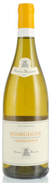 Nuiton Beaunoy Bourgogne Chardonnay 2017 12,5% vol. 0,75l
