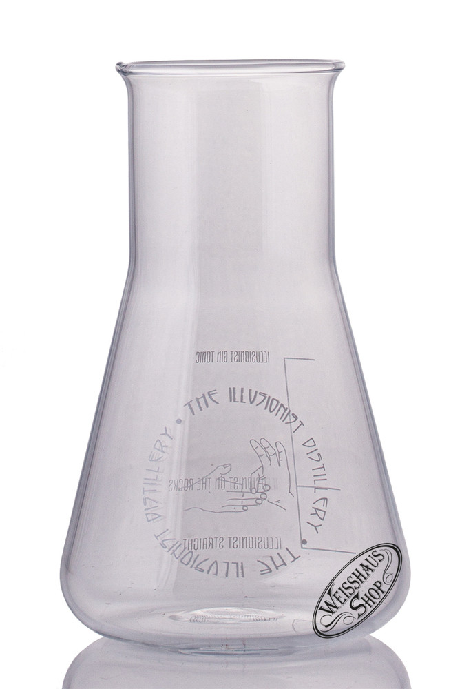 The Illusionist Distillery The Illusionist Erlenmeyer Gin Glas