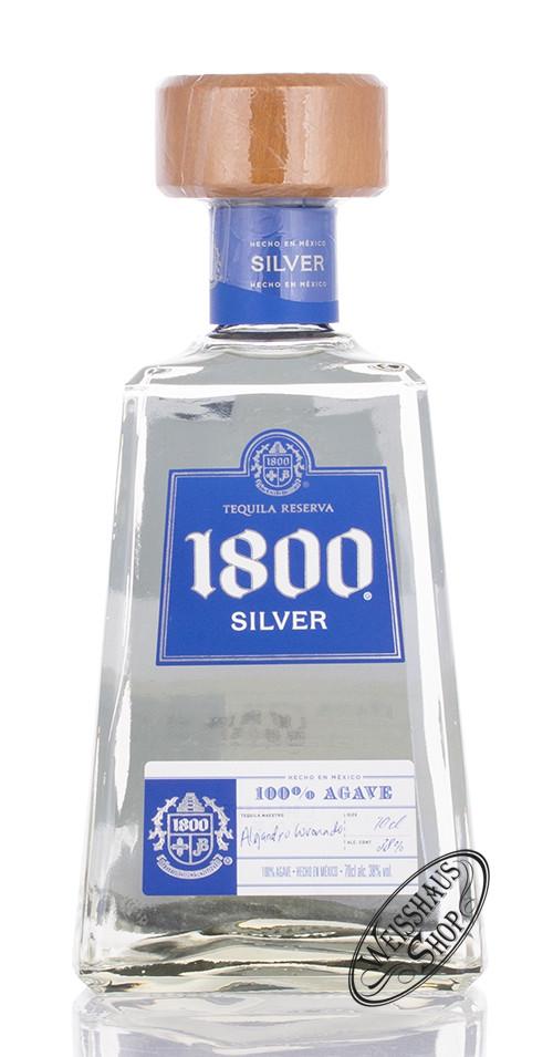 1800 Tequila Jose Cuervo Silver 38% vol. 0,70l