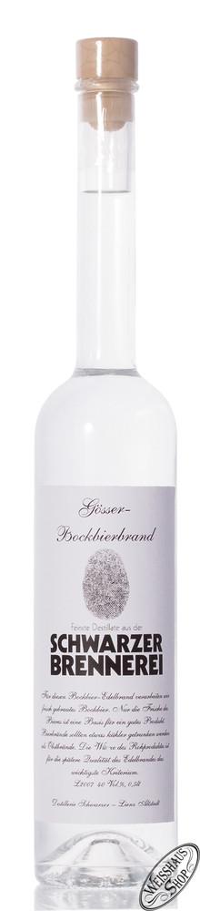 Schwarzer Bockbieredelbrand 40% vol. 0,50l