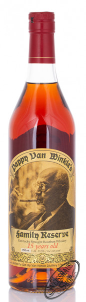 Pappy van Winkle 15 YO Kentucky Straight Bourbon 53,5% vol. 0,70l