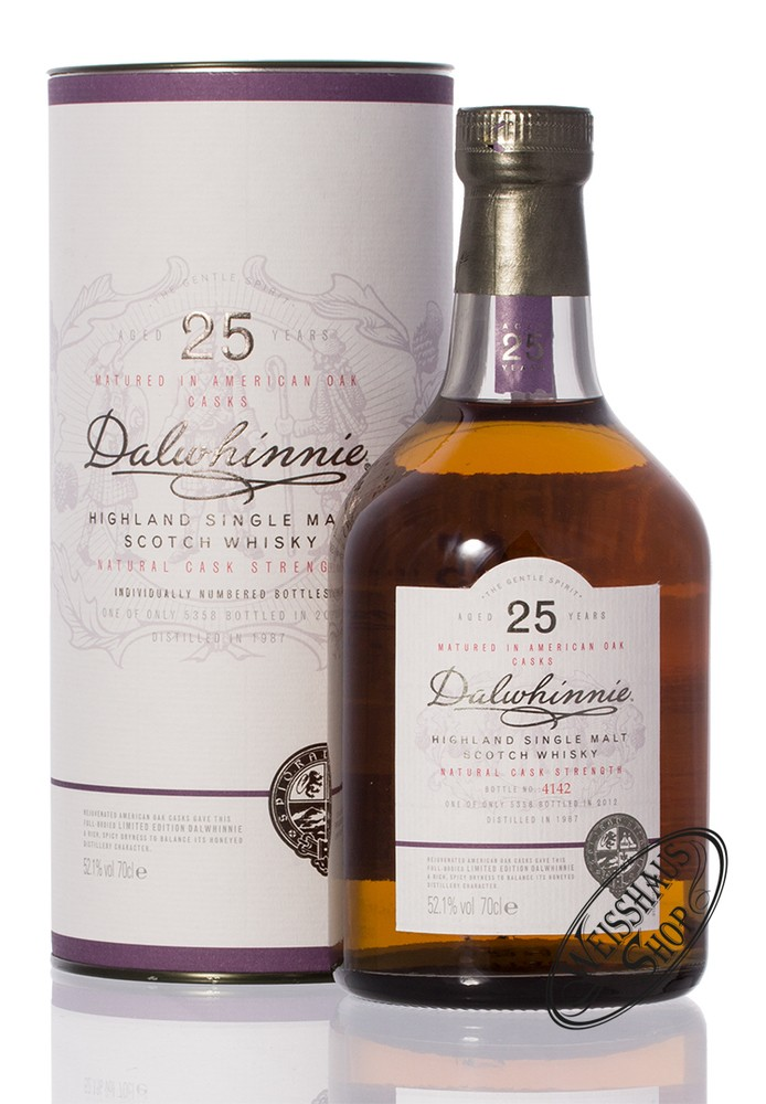 Dalwhinnie 25 YO SR 2012 Whisky 52,10% vol. 0,70l