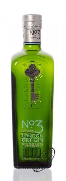 No. 3 London Dry Gin 46% vol. 0,70l