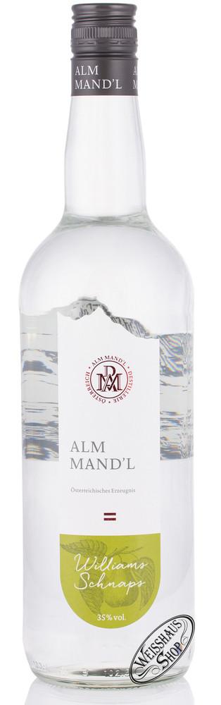 Alm Mand'l Williams Schnaps 35% vol. 1,0l