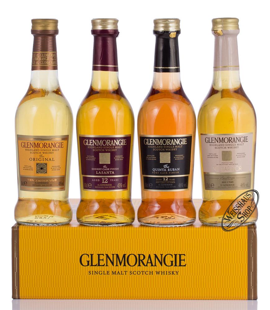 Glenmorangie Whisky Tasting Set 4 x 0,10l