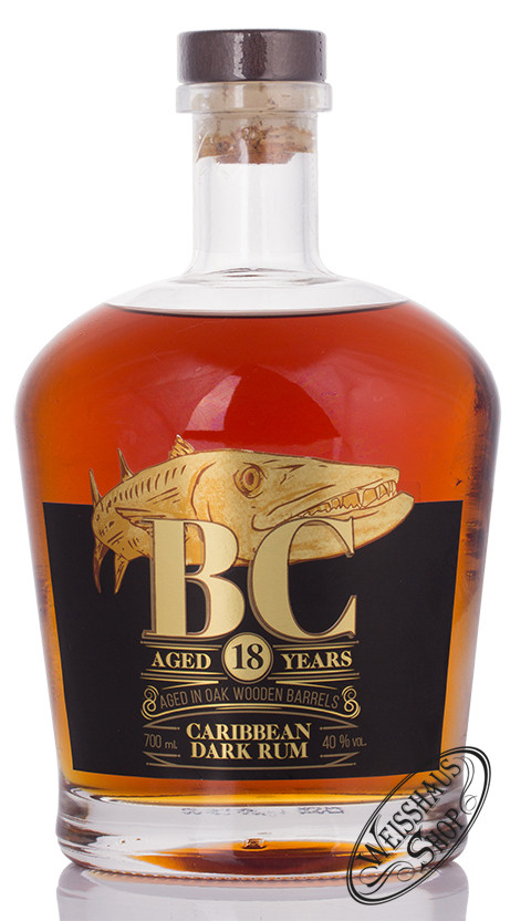 Barracauda Cay Barracuda Cay 18 YO Panama Rum 40% vol. 0,70l