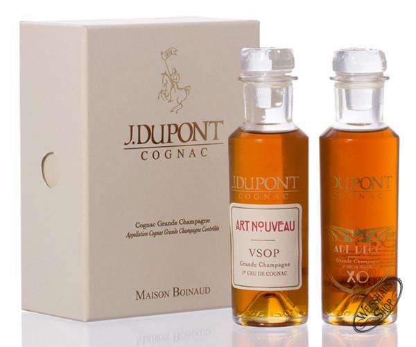 J. Dupont Cognac Invitation Pack VSOP & XO 40% vol. 0,20l