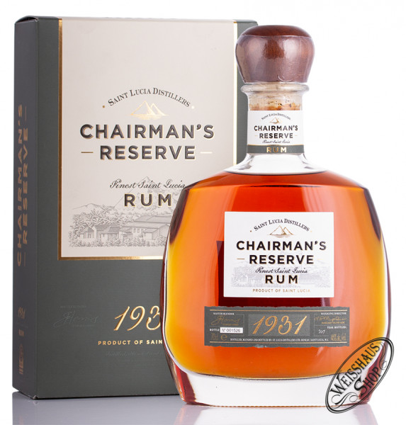 St. Lucia Distillers Chairman's Reserve Rum 46% vol. 0,70l