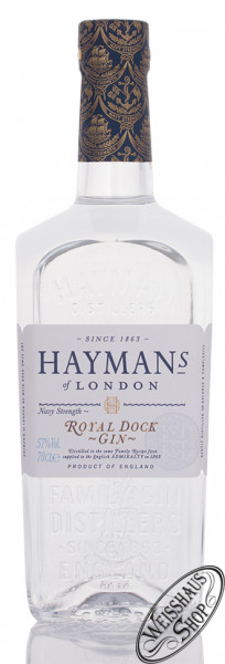 Hayman's Royal Dock Gin 57% vol. 0,70l