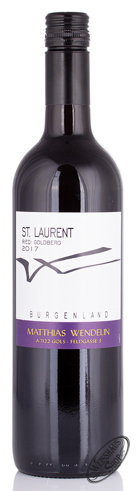 Matthias Wendelin Wendelin St. Laurent 2017 13,5% vol. 0,75l