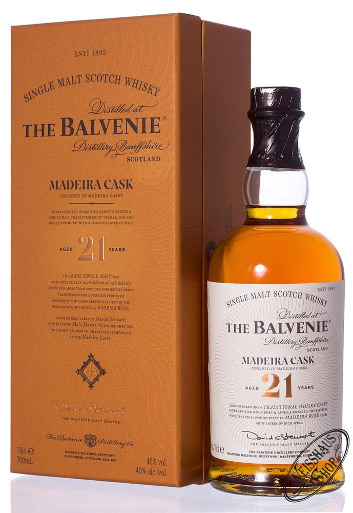 The Balvenie 21 YO Madeira Cask Whisky 40% vol. 0,70l