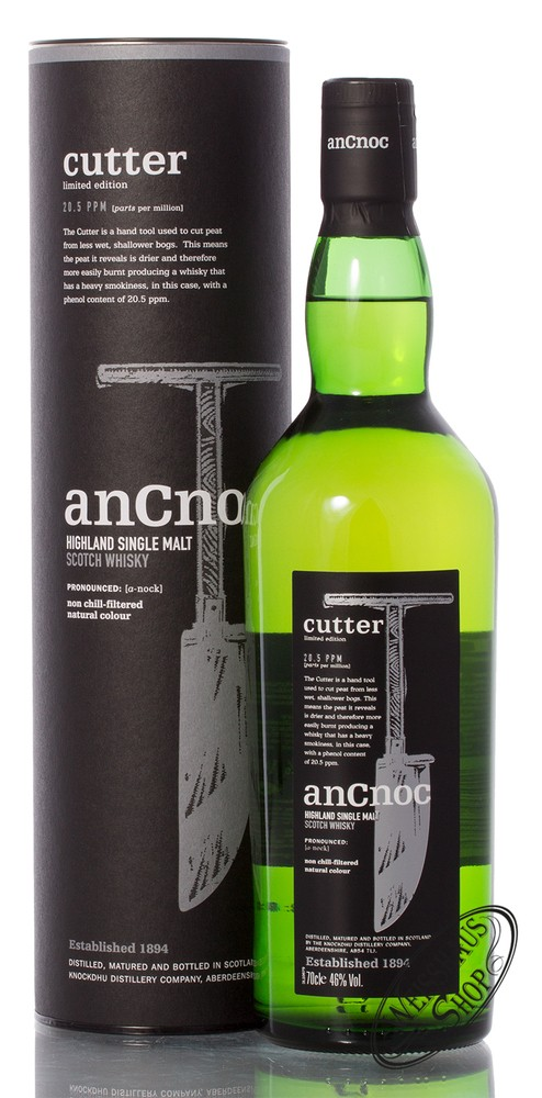 AnCnoc Cutter Whisky 46% vol. 0,70l