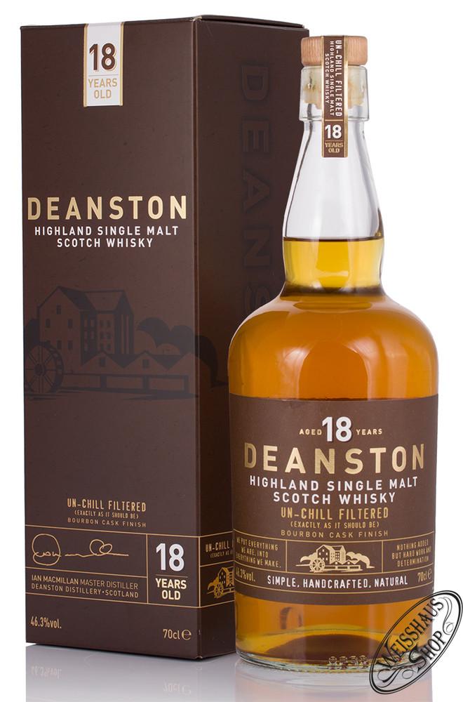 Deanston 18 YO Single Malt Whisky 46,3% vol. 0,70l